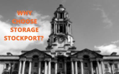 Why choose storage Stockport?