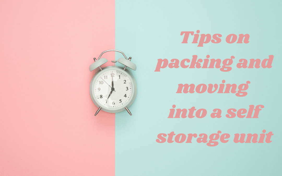 Expert tips on packing and moving into a storage unit
